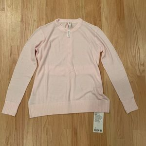 Sincerely yours pink lulu sweater size 8